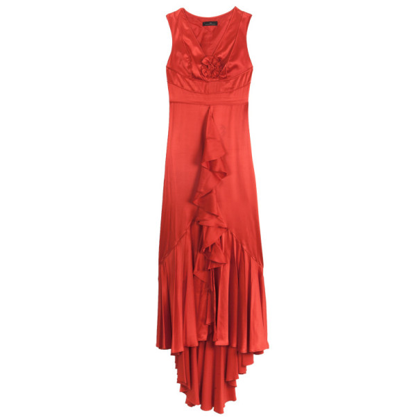 d634a08e2064a إشتري فستان كارولينا هريرا حرير أحمر M 3651 بأفضل الاسعار