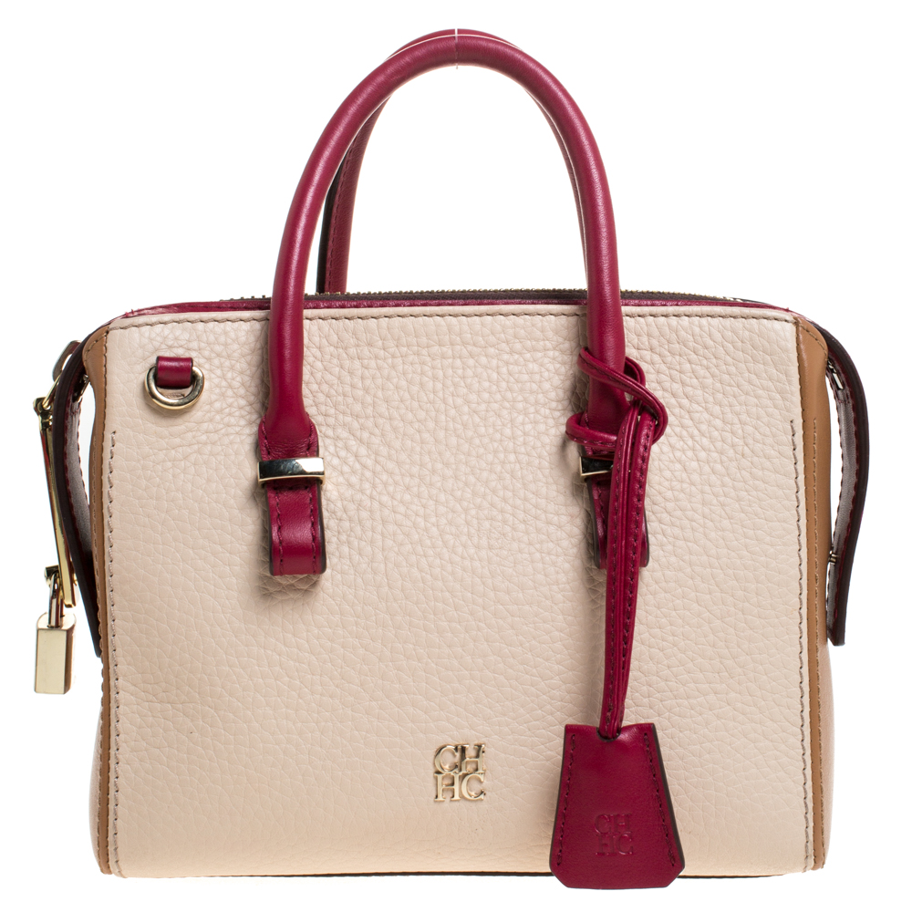 Carolina Herrera Multicolor Leather Bag