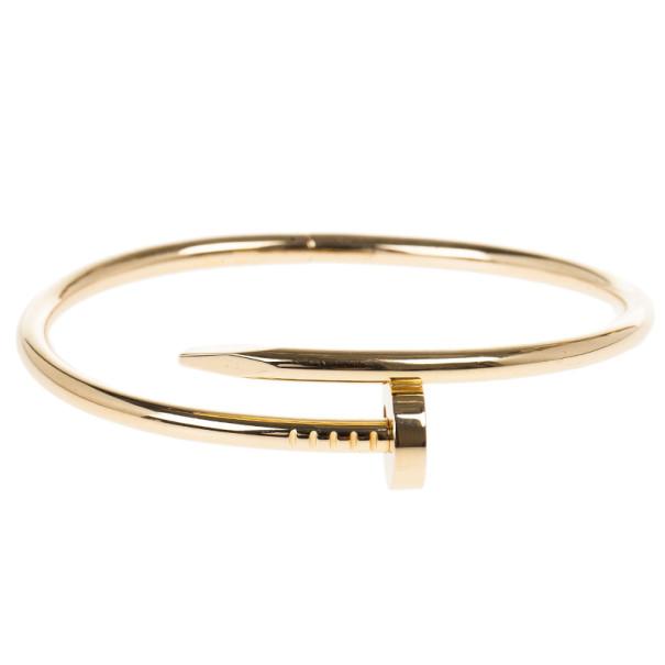 ff6978c5a4fc6 Cartier Juste Un Clou Rose Gold Bracelet 17CM