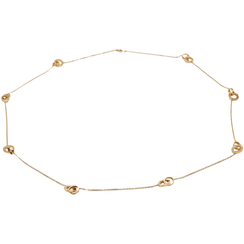 Cartier Love Yellow Gold Long Necklace 90CM