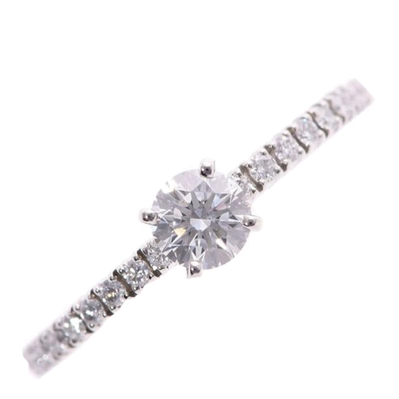 Cartier Etanser de Cartier Diamonds Pave Solitaire Ring Size 47