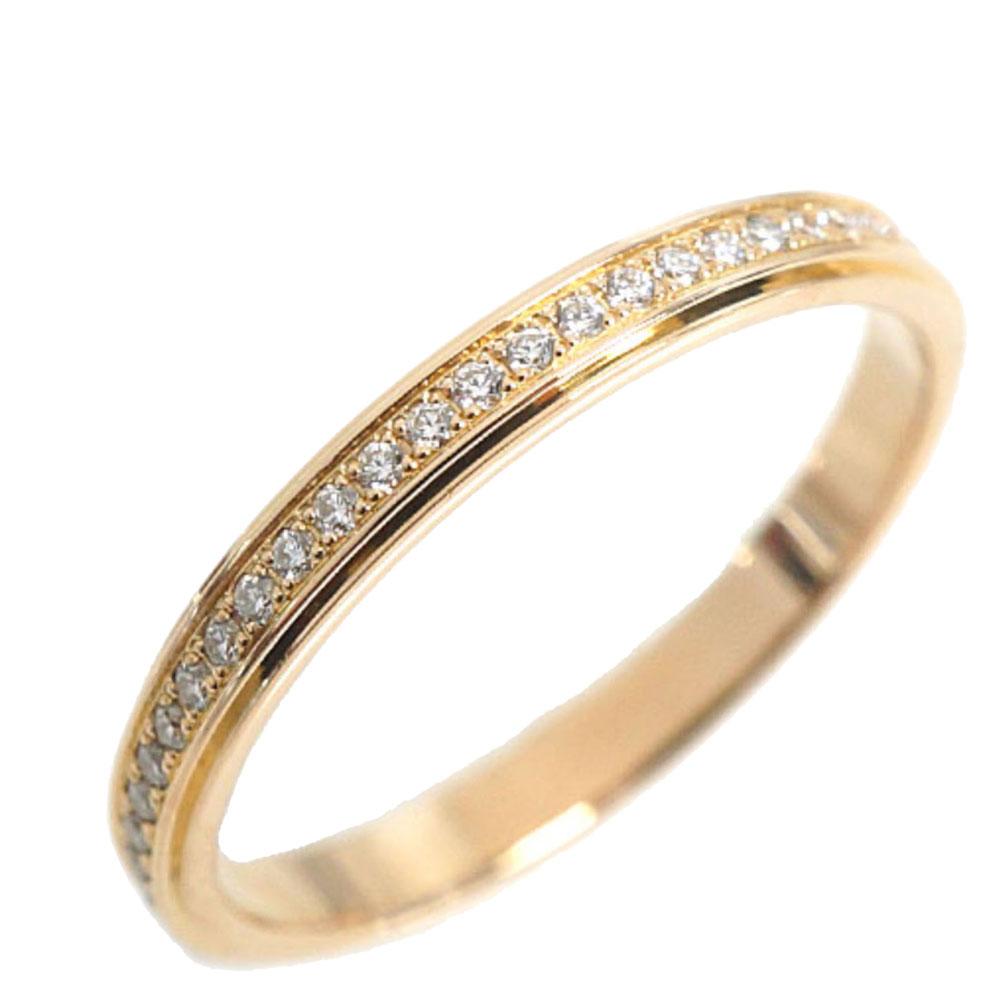 Cartier DAmour Diamonds 18K Yellow Gold Ring Size 49
