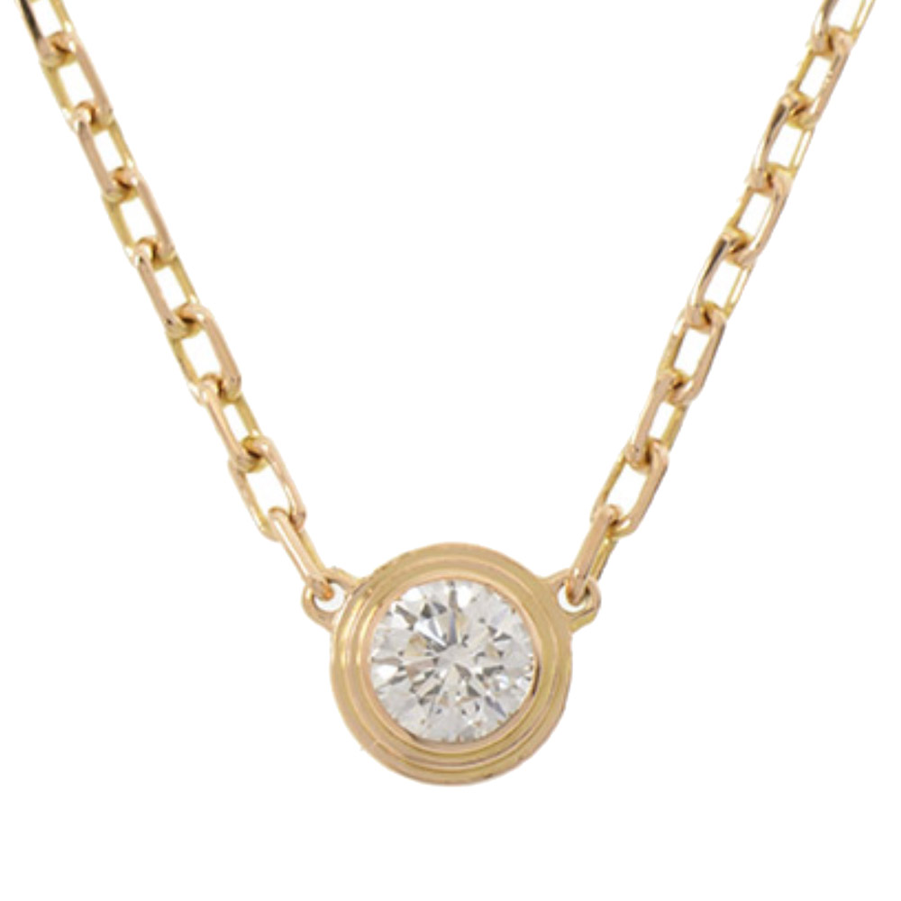 Cartier Diamants Legers 18K Yellow Gold Diamond Necklace