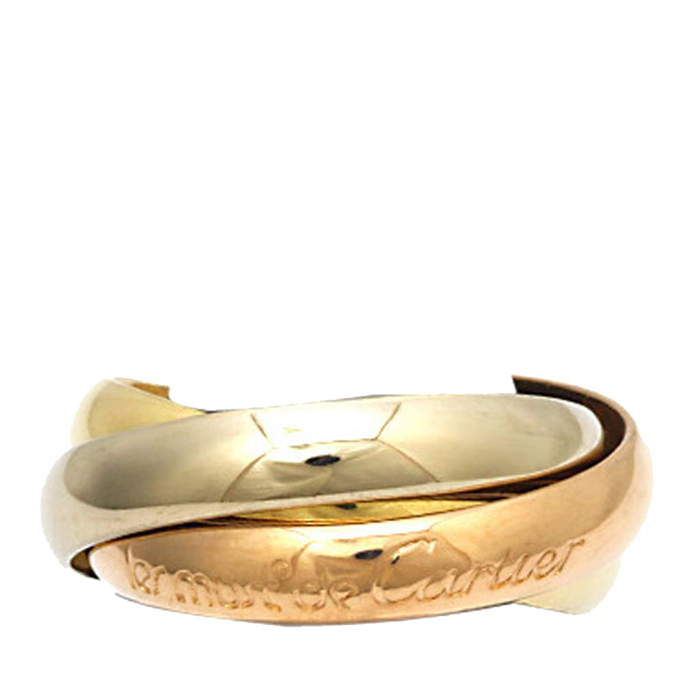 Cartier Les Must de Cartier Trinity 18K Yellow Gold,18K White Gold 18K Rose Gold Ring Size