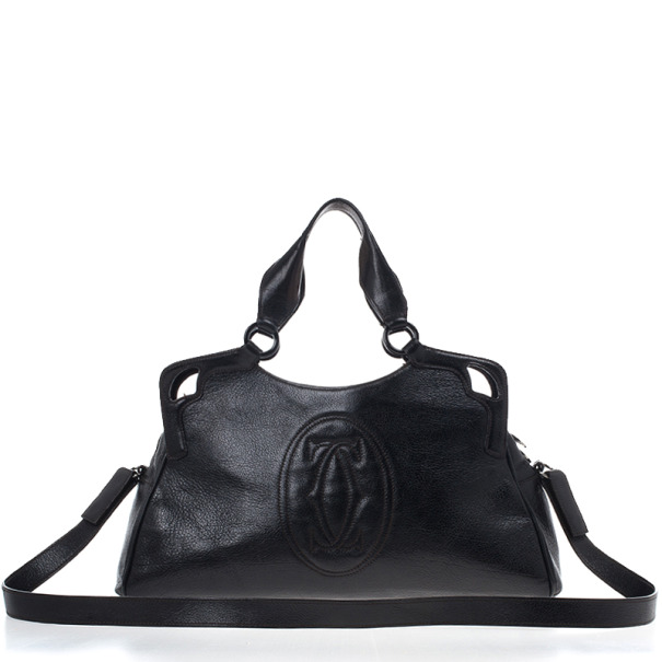 Buy Cartier Black Leather