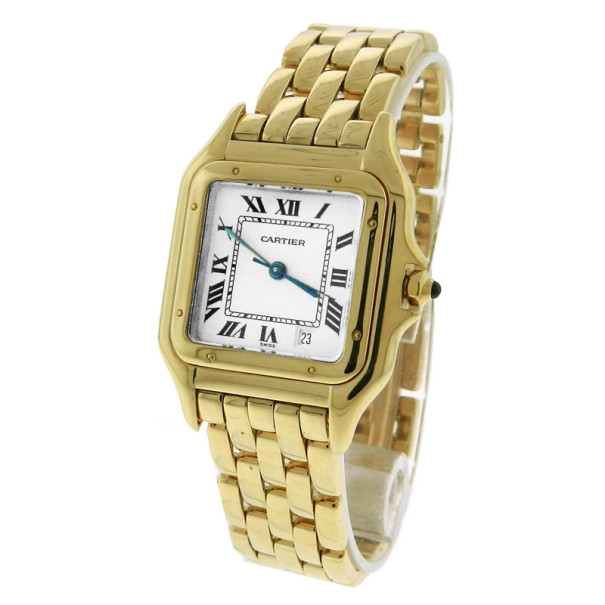 306d981ff إشتري Cartier Panthere Mid-Size 18k Yellow Gold Quartz 27mm Watch ...