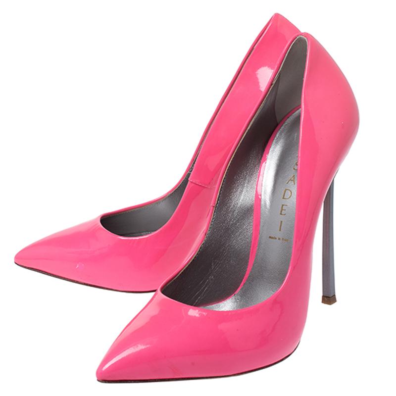 casadei pink pumps