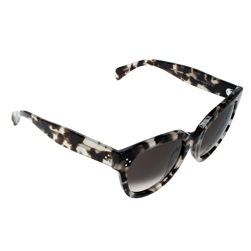 71f9d8ef8e4d9 ... Celine Spotted Havana Brown Gradient Audrey CL 41755 AVVZ3 Wayfarer  Sunglasses. nextprev. prevnext