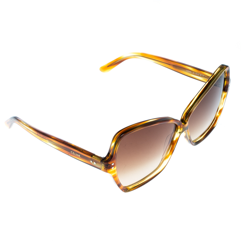 829b443a3dd ... Celine Brown Gradient CL40064I Oversized Butterfly Sunglasses.  nextprev. prevnext