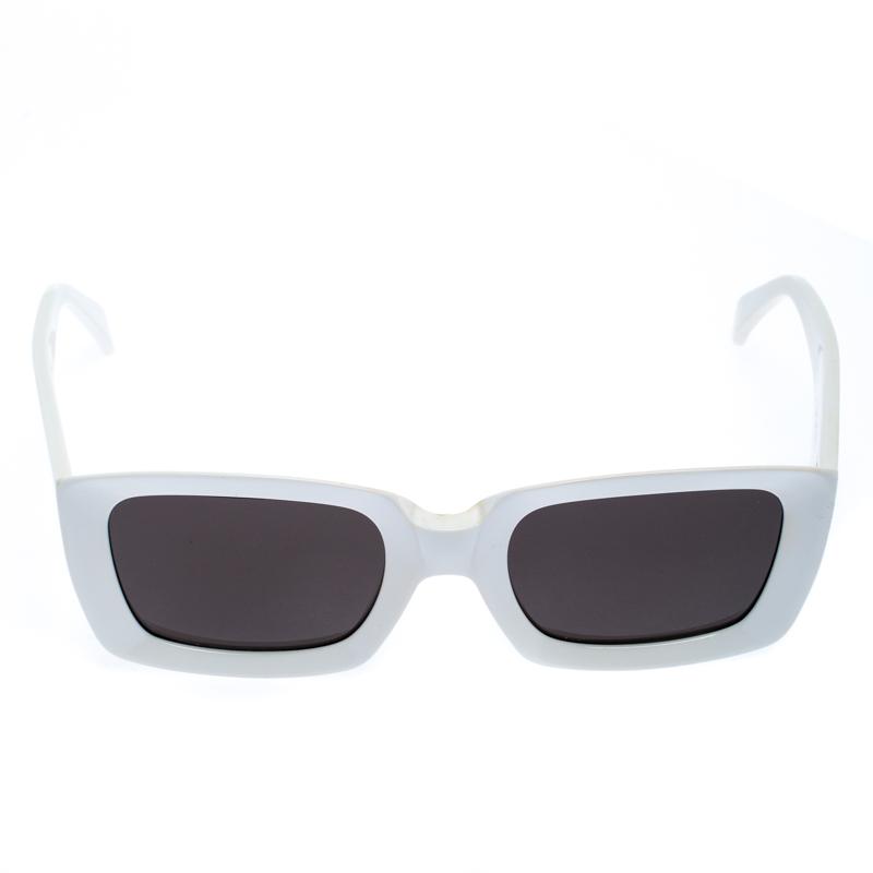 Celine Blanc/Noir CL 41449/S Lunettes de soleil Carré