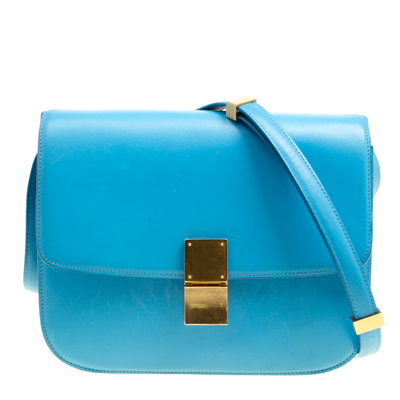 Medium Classic Box Shoulder Bag Celine