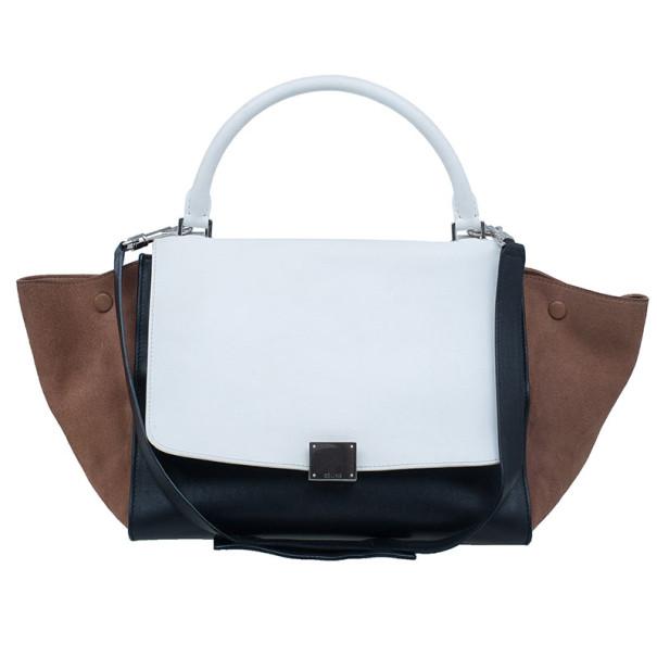 ef8a1cfb17 ... Celine Tricolor Smooth Calfskin Medium Trapeze Bag. nextprev. prevnext