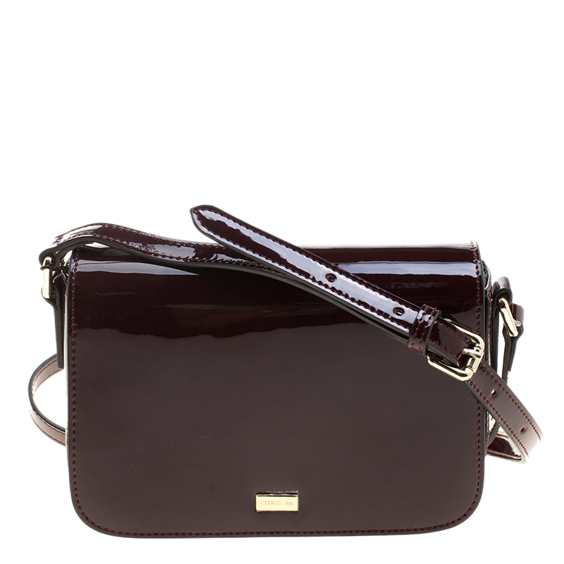 26c92d98cdf ... Cerruti 1881 Red Patent Leather Brenda Crossbody Bag. nextprev. prevnext