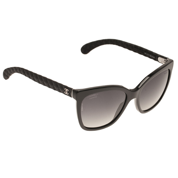 6f3685ef7cf1 ... Chanel Black Cat Eye 5288 Polarised Sunglasses. nextprev. prevnext