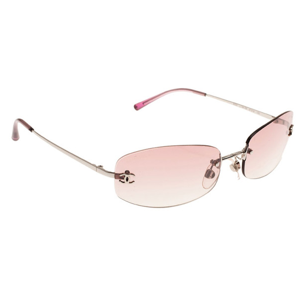 8e7ba38357be2 Buy Chanel Pink 4002 Rimless CC Aviators 10496 at best price