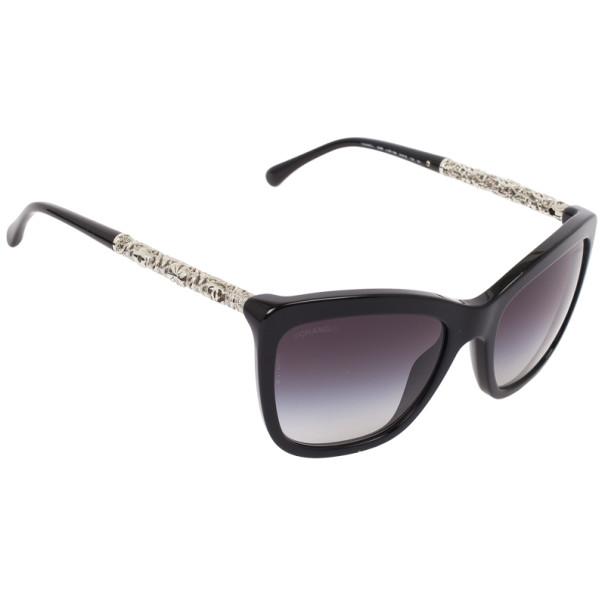 7e117ef0c73 Buy Chanel Black 5268 Bijou Womens Sunglasses 26283 at best price