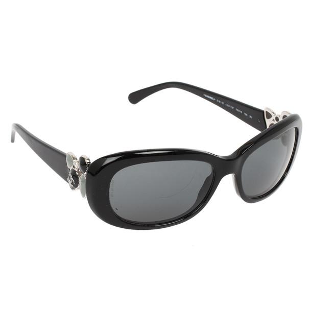 Buy Chanel 5181-B Black Rectangle Women Sunglasses 30879 ...Chanel Sunglasses 2013 Women
