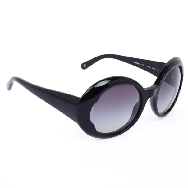 0af9e0a5264a Buy Chanel Black Round CC Women Sunglasses 31688 at best price