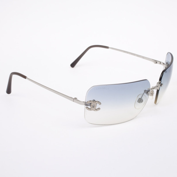 a3550b660874 Buy Chanel Rimless 4017-D Women Sunglasses 31699 at best price | TLC