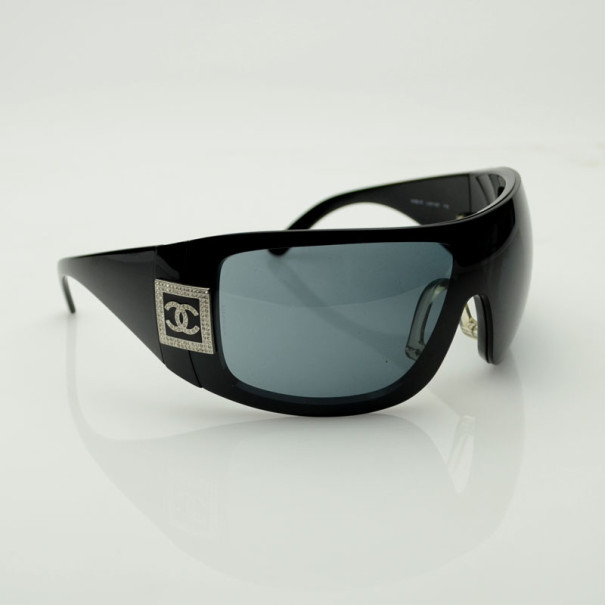 Chanel Black Mask Sunglasses
