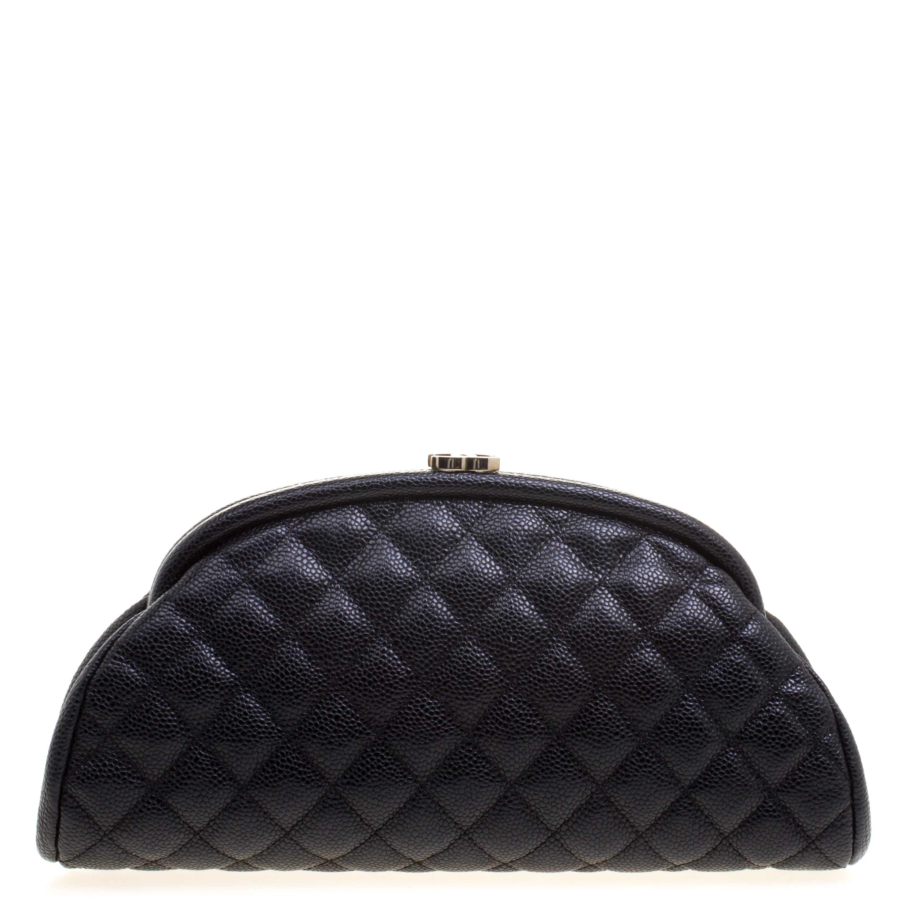 4448133828c452 ... Chanel Black Quilted Caviar Leather Timeless Classic Clutch. nextprev.  prevnext
