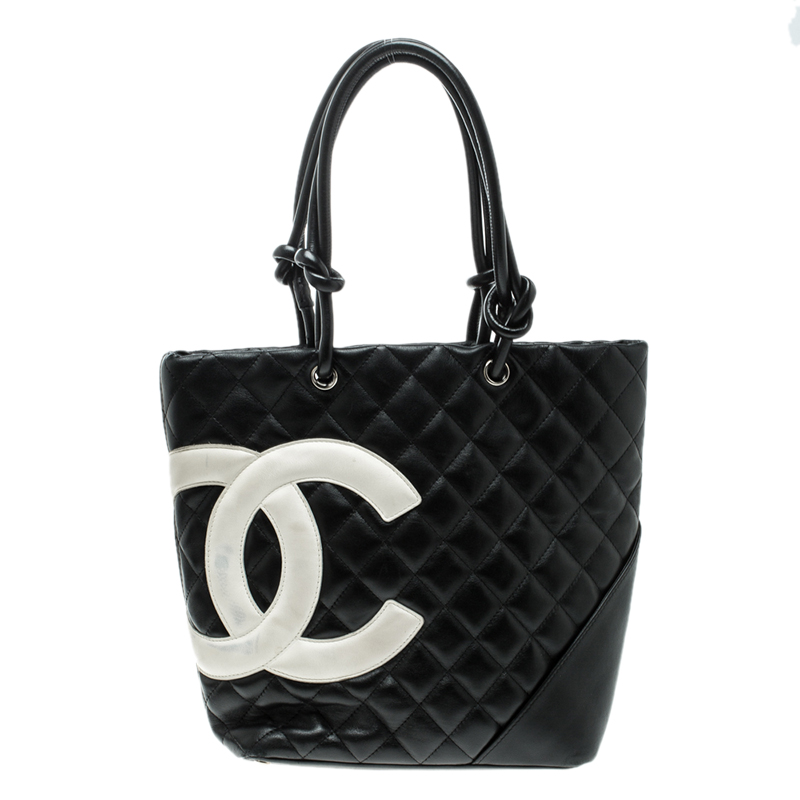 7860ceefedbe ... Chanel Black Quilted Leather Medium Ligne Cambon Bucket Tote. nextprev.  prevnext
