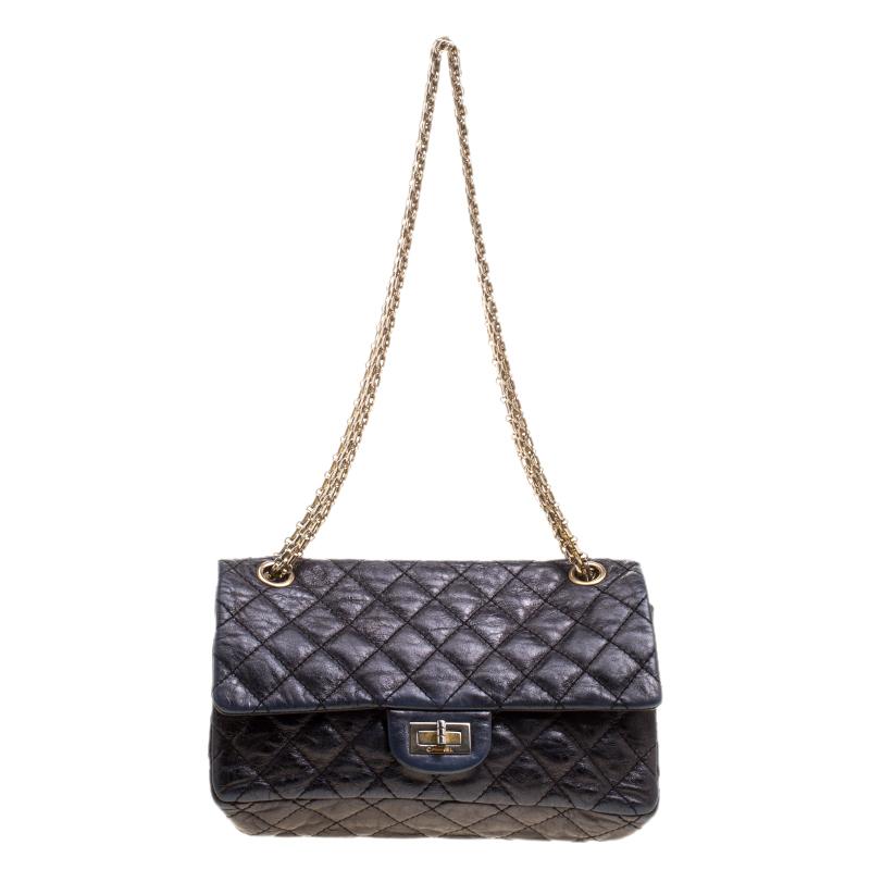 d9982ac3a97e ... Chanel Black Quilted Leather Reissue Double Gusset Flap Bag. nextprev.  prevnext