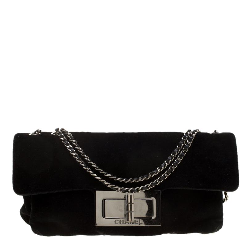 b82430654ae2 ... Chanel Black Velvet Giant Reissue Flap Shoulder Bag. nextprev. prevnext
