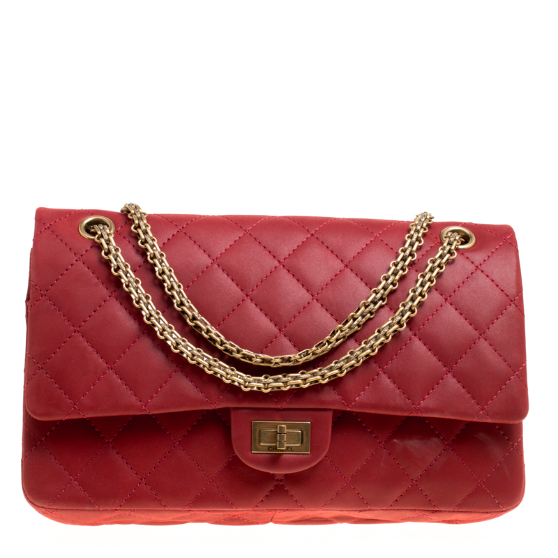 ... Chanel Red Quilted Leather Reissue 2.55 Classic 226 Flap Bag. nextprev.  prevnext ec50067069703