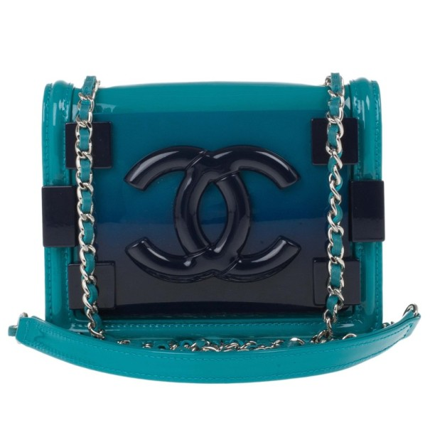 a6fff900433c4c Buy Chanel Turquoise Boy Brick Flap Bag 14890 at best price | TLC