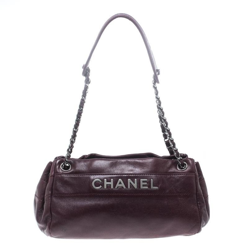 e7ca0c2c5bd46a ... Chanel Purple Leather LAX Accordion Camera Shoulder Bag. nextprev.  prevnext