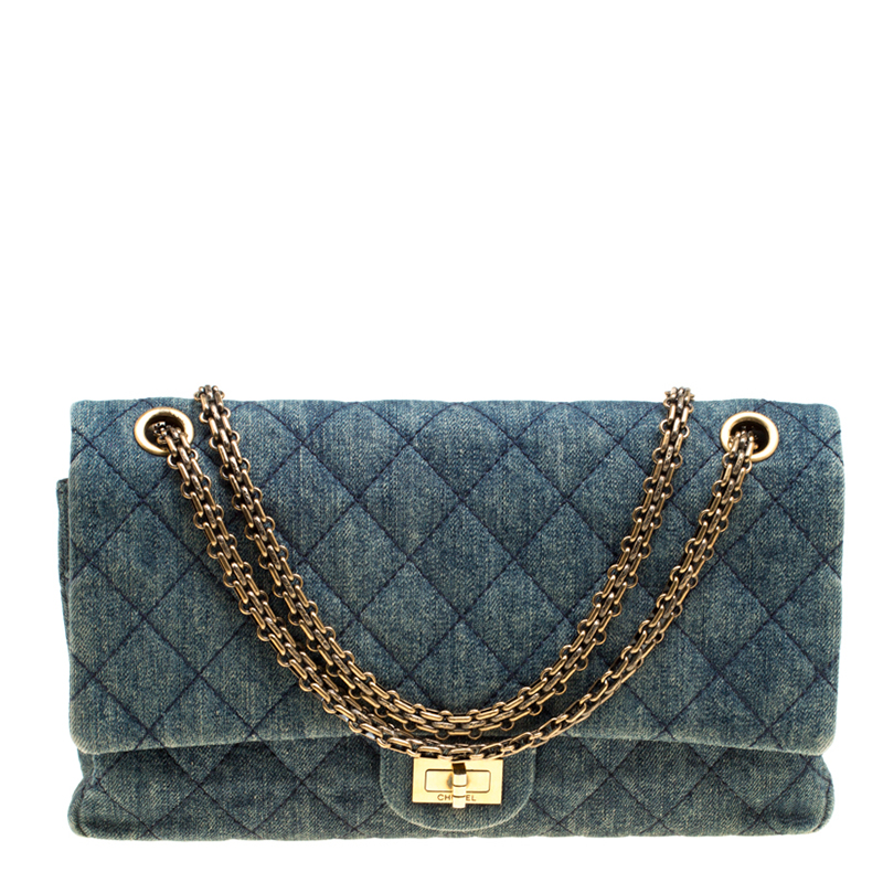 d2451139af7122 ... Chanel Blue Denim Reissue 2.55 Classic 226 Flap Bag. nextprev. prevnext