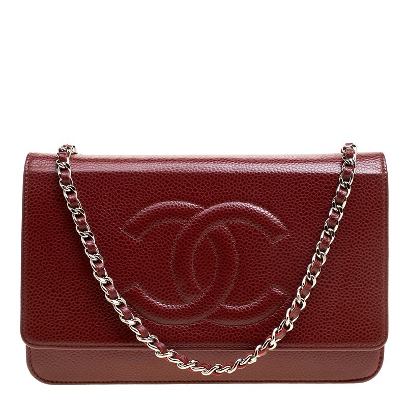76400780699f ... Chanel Dark Red Caviar Leather WOC Clutch Bag. nextprev. prevnext