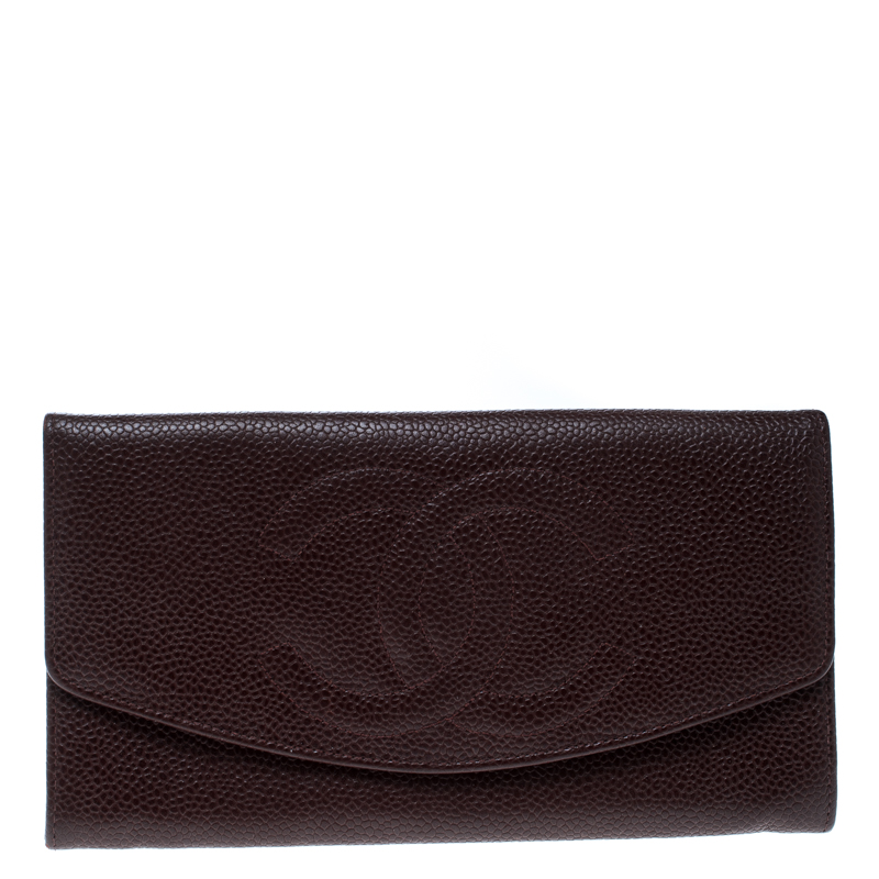 586d51accdbd ... Chanel Maroon Leather CC Timeless Vintage Wallet. nextprev. prevnext