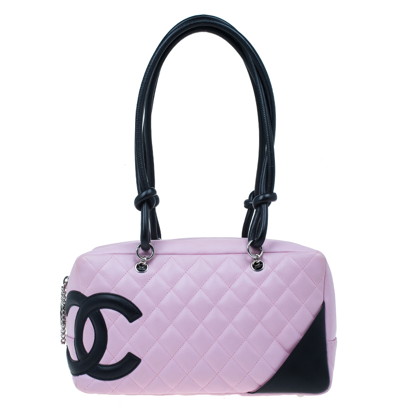 e5196334aecf ... Chanel Pink Quilted Leather Cambon Ligne Bowler Bag. nextprev. prevnext