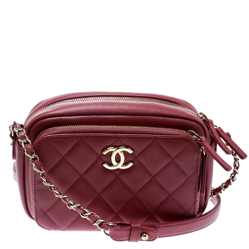 f9fca4d16c98 ... Chanel Pink Quilted Leather Business Affinity Camera Case Shoulder Bag.  nextprev. prevnext