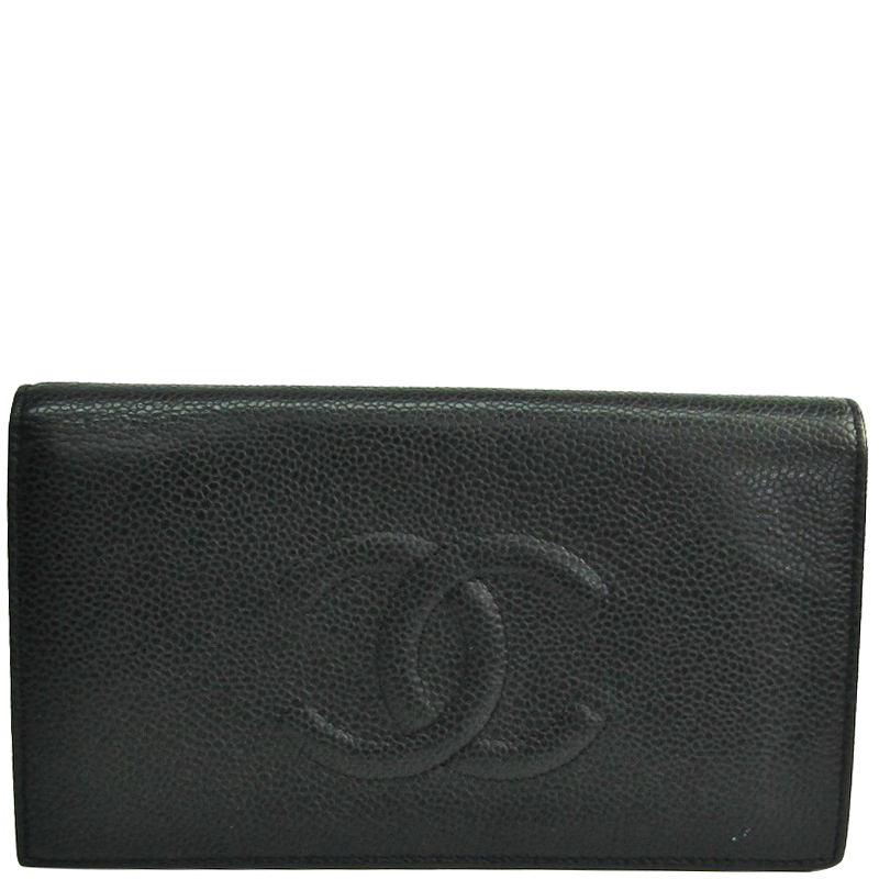 d6d2a11939213f ... Chanel Black Caviar Timeless CC L Yen Wallet. nextprev. prevnext