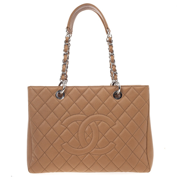 065db82d67b7 ... Chanel Camel Beige Caviar Grand Shopper Tote GST Bag. nextprev. prevnext
