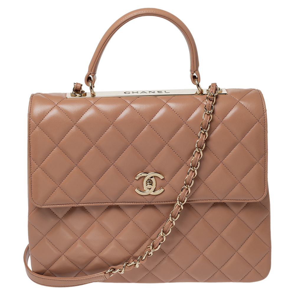 Chanel Classic Flap Naked Quilted Gray Pvc Shoulder Bag