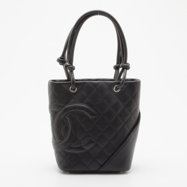 d0b399d6c587 ... Chanel Black Quilted Ligne Cambon Medium Tote. nextprev. prevnext