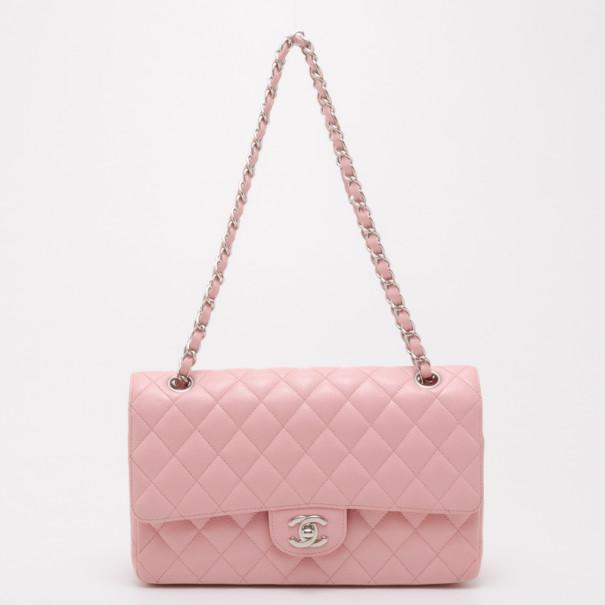 Buy Chanel Light Pink Caviar Medium Flap 37715 at best price  3a678035cb98
