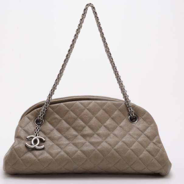 ... Chanel Dark Gold Caviar Leather Just Mademoiselle Bowling Bag. nextprev.  prevnext 9027e98756699