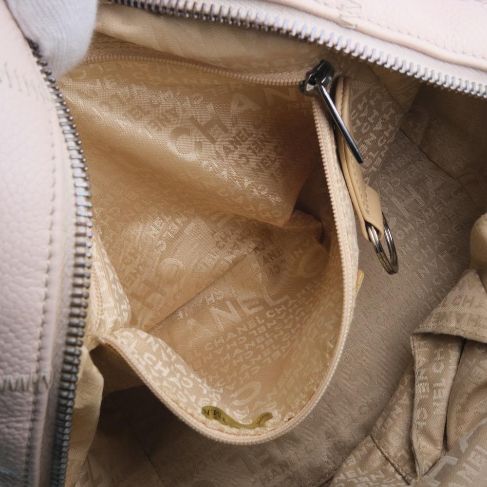 Chanel Pink Leather Chocolate Bar Shoulder Bag6