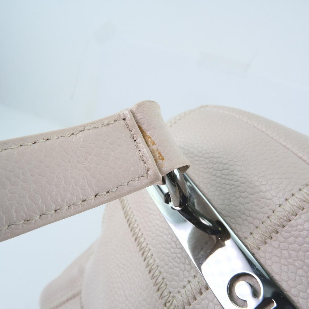 Chanel Pink Leather Chocolate Bar Shoulder Bag8