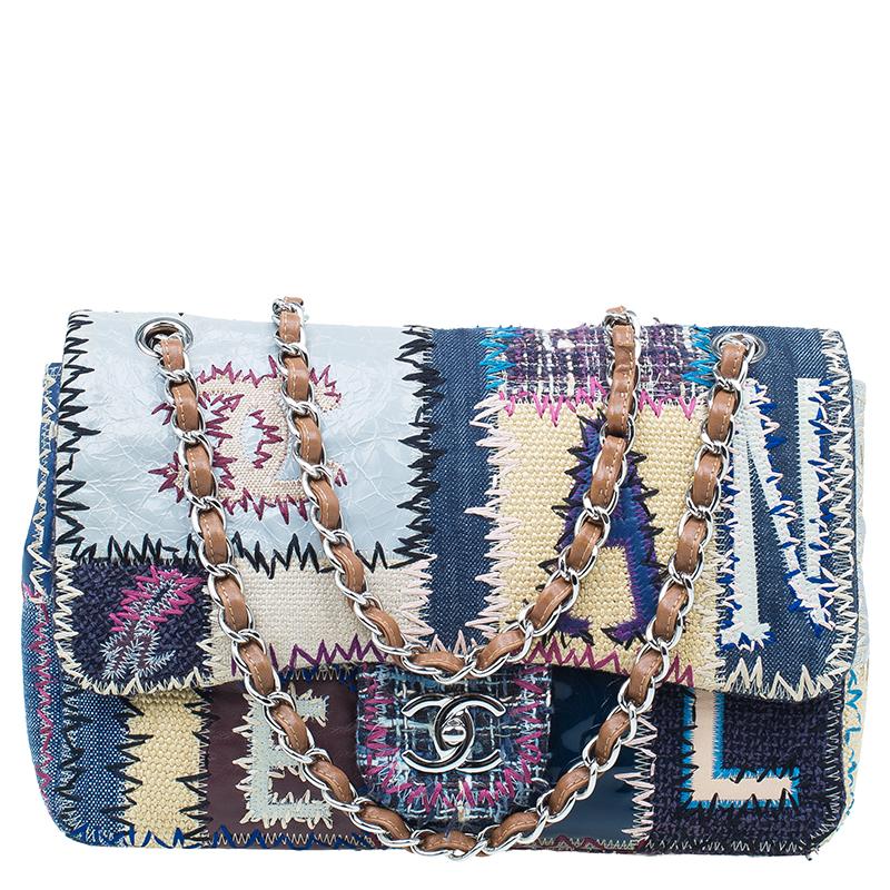 30a00162c72c ... Chanel Multicolore Patchwork Jumbo Classic Flap Bag. nextprev. prevnext