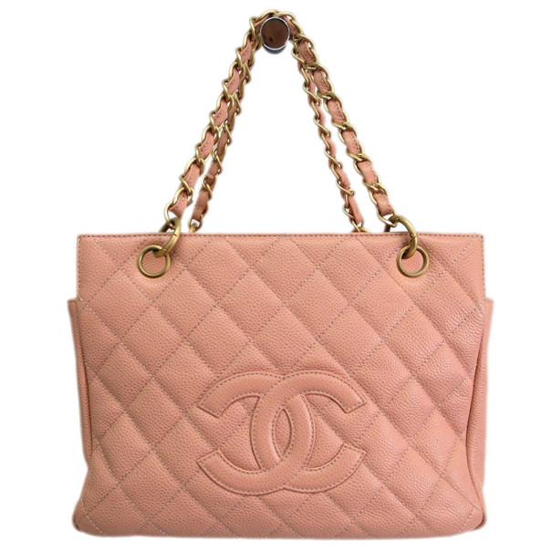 13be98217f95 Buy Chanel Pink Caviar Petite Shopper Tote 8900 at best price | TLC