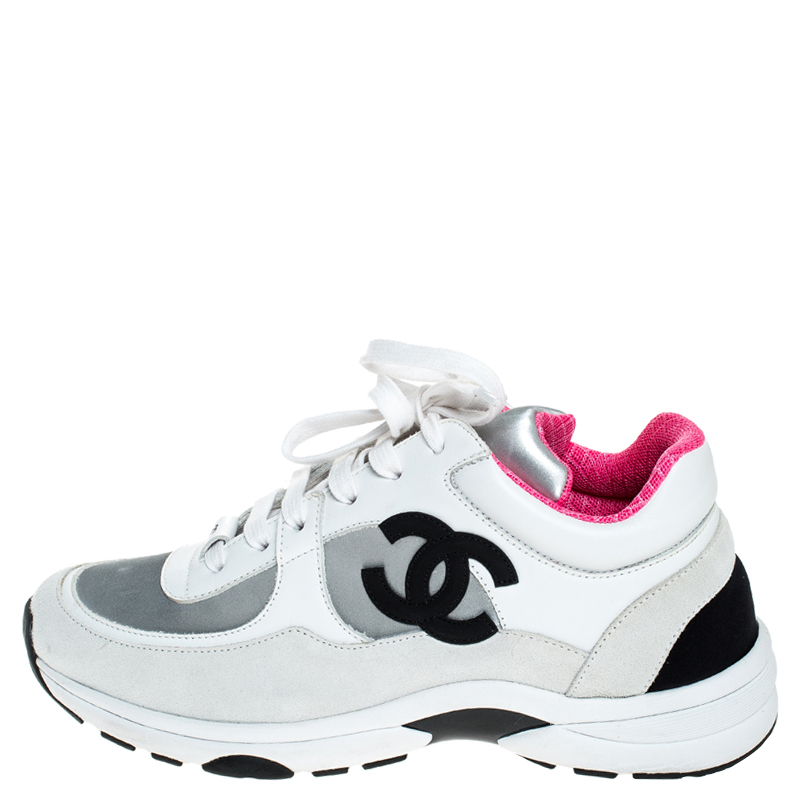 Chanel Multicolor Suede, Neoprene And