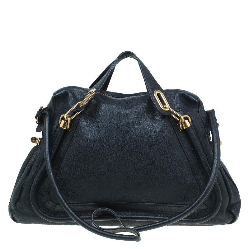592cc30b3 ... Chloe Black Leather Large Paraty Shoulder Bag. nextprev. prevnext