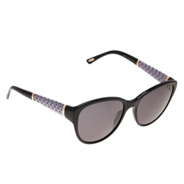 0aa4b884ad99 Buy Chopard Black SCH127 Cat Eye Sunglasses 5055 at best price