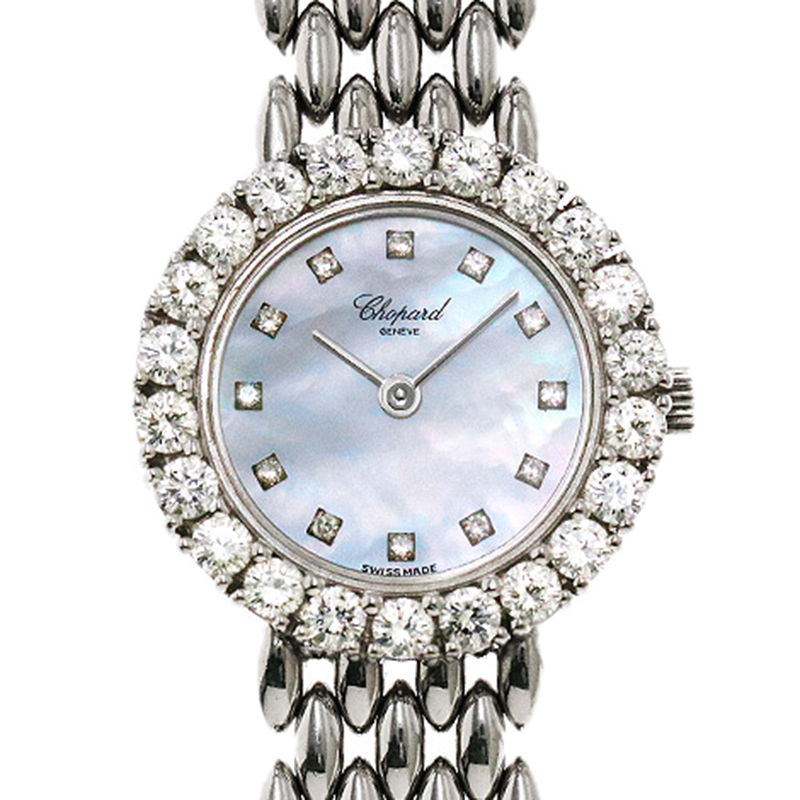 c077669f0 Buy Chopard Mother of Pearl 18K White Gold Diamond Women's ...